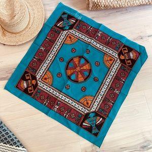 Vintage Bandana Southwest/ Native American design